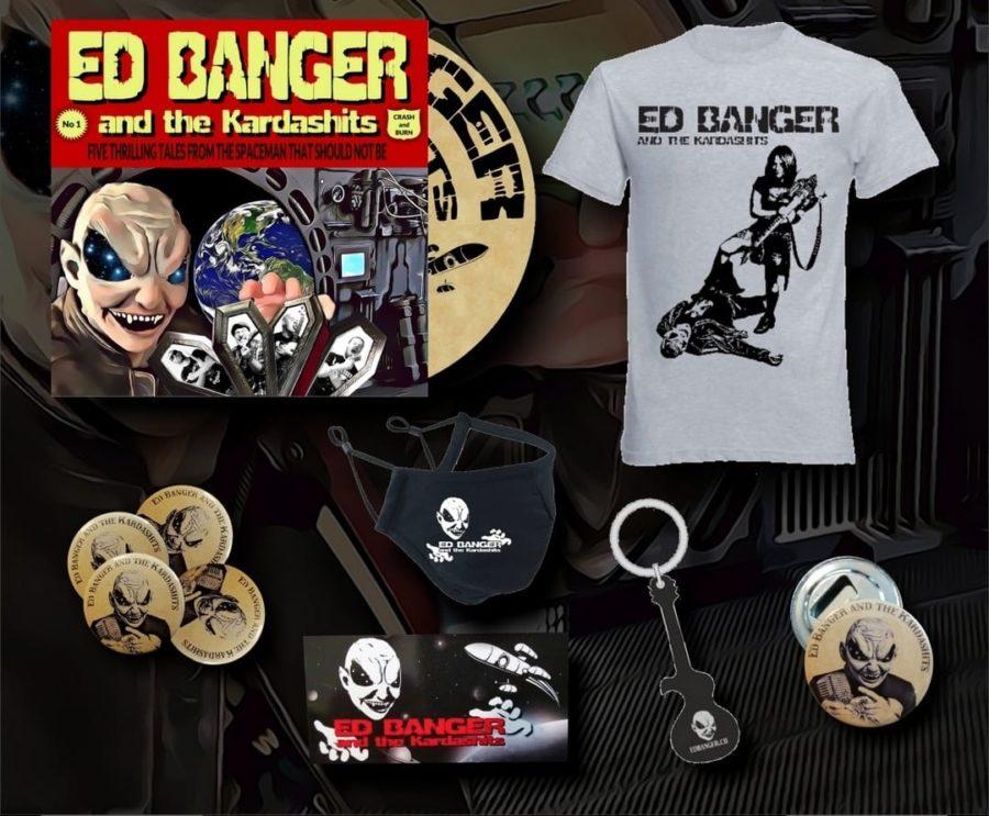 Album Review: ED BANGER AND THE KARDASHITS 'Crash And Burn'
