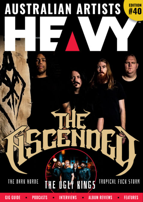 HEAVY Magazine cover with The Ascended