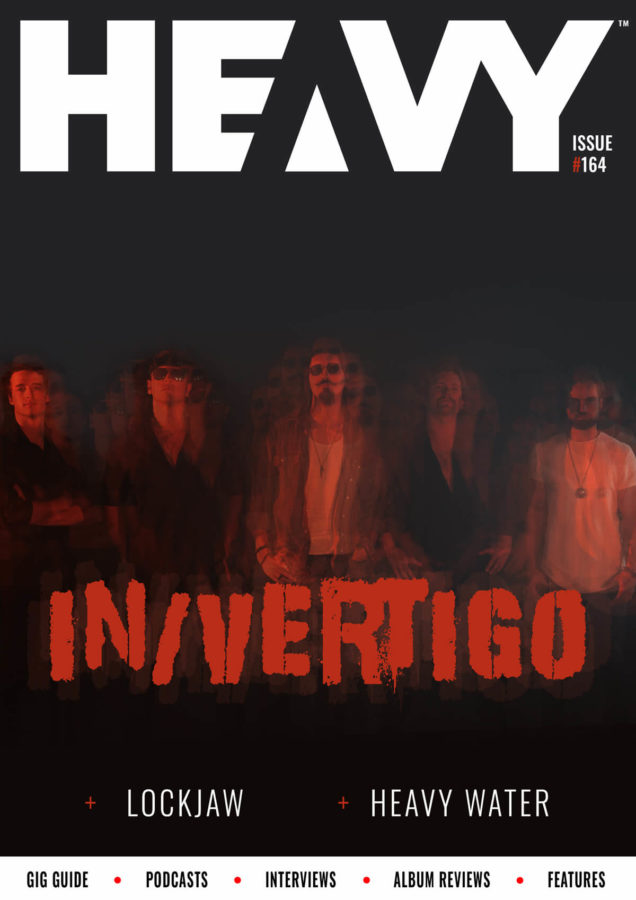 HEAVY Magazine cover with In/Vertigo