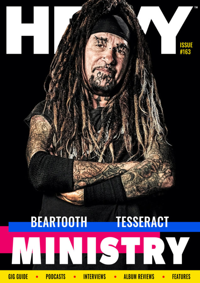 HEAVY Magazine Cover with Ministry