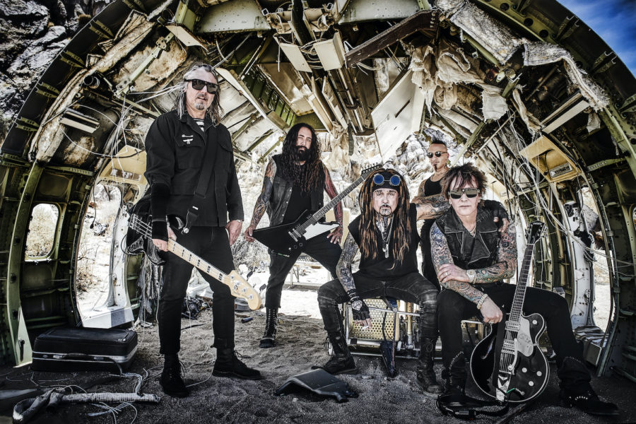 MINISTRY Cover THE STOOGES