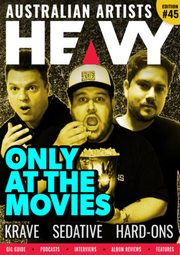 HEAVY Magazine cover with Only At The Movies