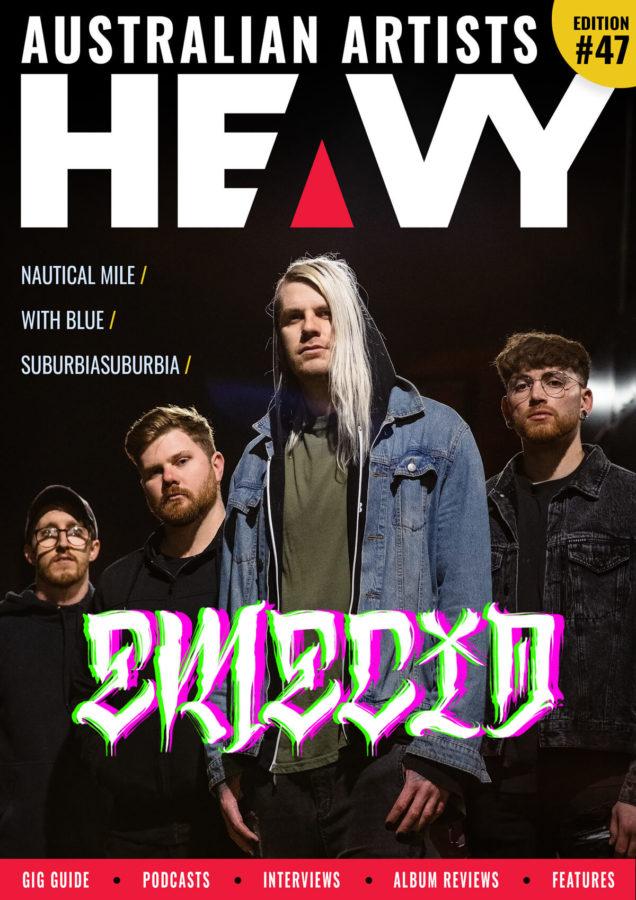 HEAVY Magazine cover with Emecia