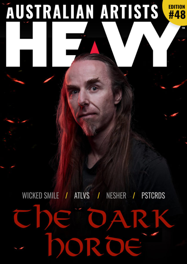 HEAVY Magazine cover with The Dark Horde