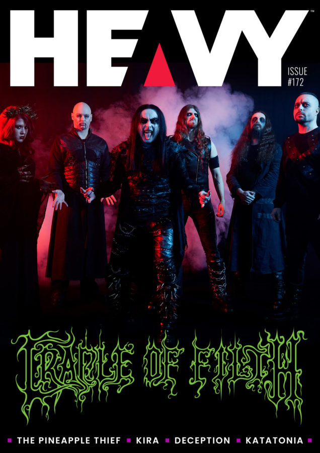 HEAVY Magazine Cover with Cradle Of Filth